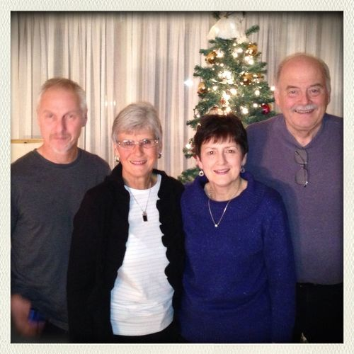 Family. Mark, Glenice, Judy, & Wayne Coggins.