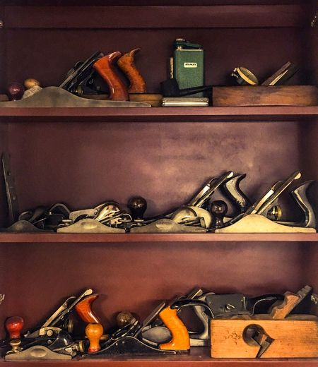 Hand Planes Bench Planes Tools Of The Trade Tool Cabinet Stanley Tools Sargent Tool Co Collection Millers Falls Veritas Craftsmanship  Woodworking Woodwright Furniture Design Cabinet Maker Still Life