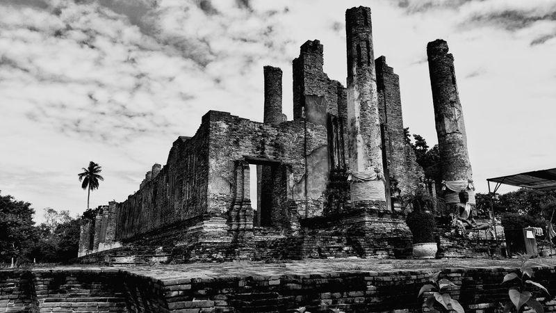 Ancient Architecture Ancient Thailand Ayutthaya Ruined First Eyeem Photo