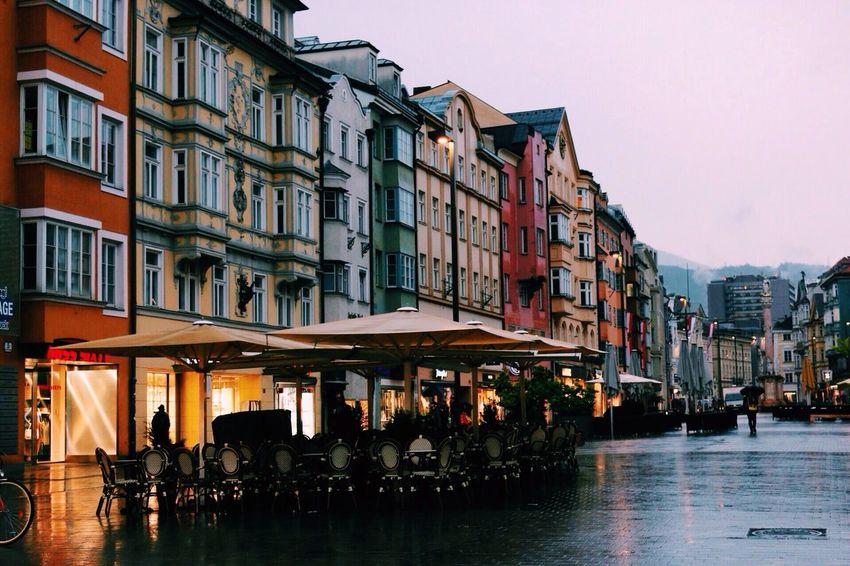 City Rain Colors
