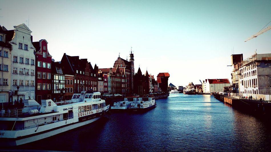 Gdansk Motława Ships⚓️⛵️🚢 River City Live For The Story