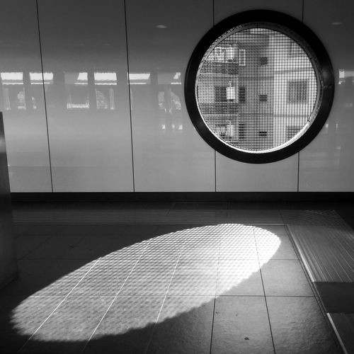 Hello World Circle Blackandwhite Shadow Public Transportation Pattern EyeEm Italy Rome