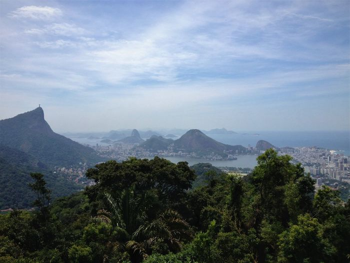 Bela imagem do Rio de Janeiro pela Vista Chinesa. 7 Wonders Of The World Beauty In Nature Chinese View Cloud - Sky Eyeem Market Growth Landscape Landscape_photography Mountain Mountain Range Nature No People Rio By M.Chagas Rio De Janeiro Scenics Sky The Best View Of Rio De Janeiro Tourist Destination Tree