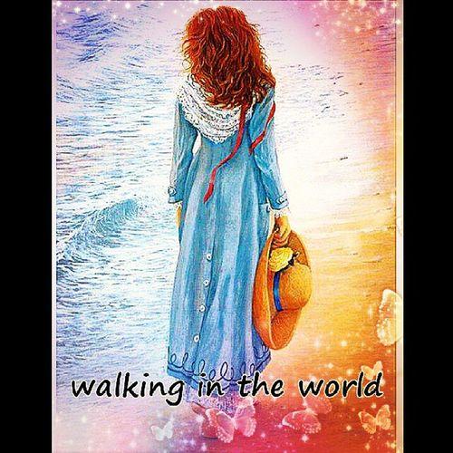 walking through life ♥ :-)