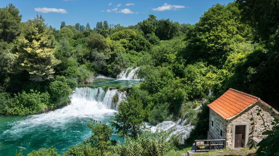 Landscape Wallpaper Water Krka Waterfall