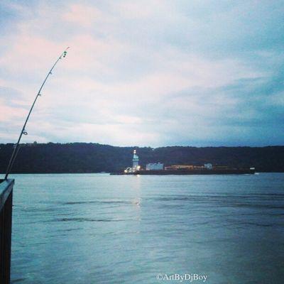 Instaswarm Fishing Boat Instagramuptown Washingtonheights Inwood hudsonriver newjersey newyorkcity made_in_ny nyc