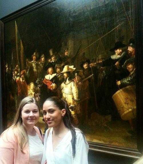 Rembrandt Nachtwacht Obama Amsterdam