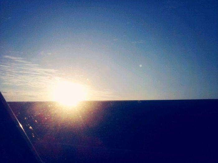 Sol se pondo <3 Coisa linda.