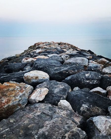 #2017 Water Sea Wave Beach Pebble Beach Sunset Sand Rock - Object Pebble Water's Edge