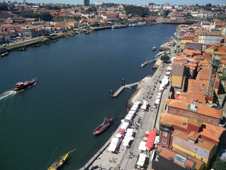 Porto Invicta Aerial View Architecture Bridge - Man Made Structure Building Exterior Built Structure City Day Douro  Douroriver High Angle View Nautical Vessel Porto River Transportation Travel Destinations EyeEmNewHere Neighborhood Map
