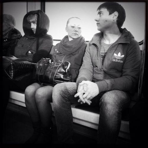 Subway Streetphotography Blackandwhite