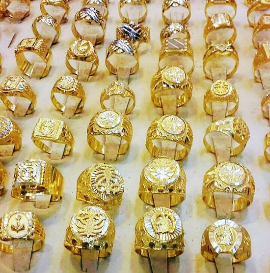 Large Group Of Objects No People Full Frame Close-up For Sale Mensfashion Goldrings 24KT Gold Puregold Jeddah City Collection Luxurious ExploreEverything Jewelrydesigner Golden Color Jewellery Photoshoot Jewelry Store Golden Moments  SaudiGold
