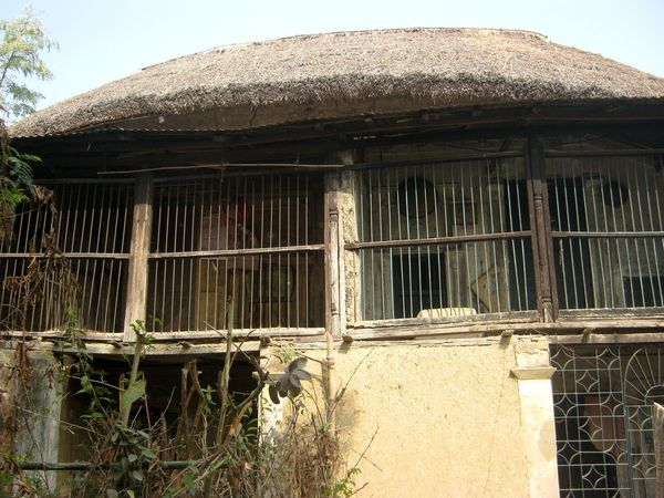 village mud house Mud House Village House Lonely Lonely House Architecture Outdoors