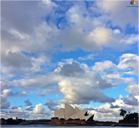 Operahouse Ashrajclicks CloudPhotography Ashrajphotography Cloud - Sky Sky Architecture Built Structure Building Exterior Outdoors Day Low Angle View No People Blue Travel Destinations Scenics Nature Beauty In Nature EyeEm Diversity Art Is Everywhere The Secret Spaces EyeEmNewHere