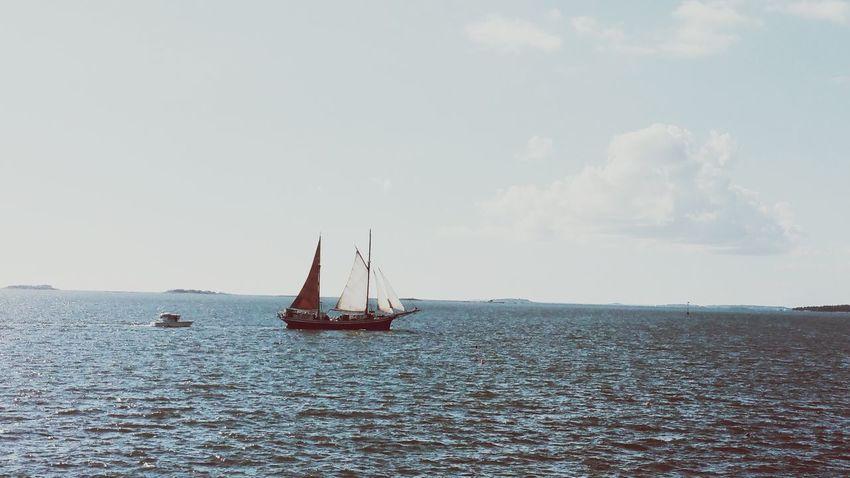 Boat Pastel Power Relaxing Hello World EyeEm Best Shots Baltic Sea Suomenlinna Helsinki,finland Samsung Galaxy Note 4