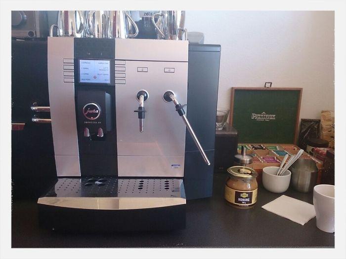 que tiene de malo nuestra máquina de café? doy 5 minutos