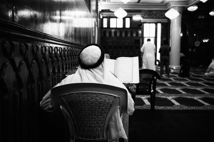 Read Quran. Streetphotography Leicacamera