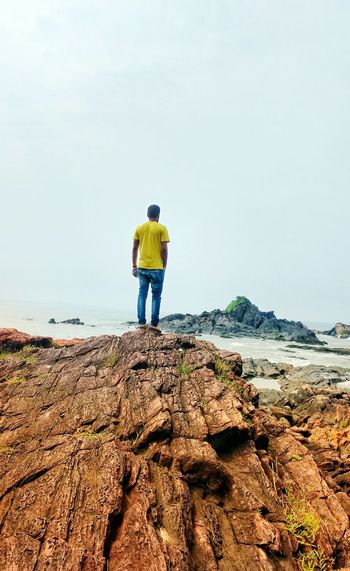 Beach Lost In The Landscape Horizon Over Water Outdoors Casual Clothing Leisure Activity Bike Rider Connected By Travel Colour Your Horizn