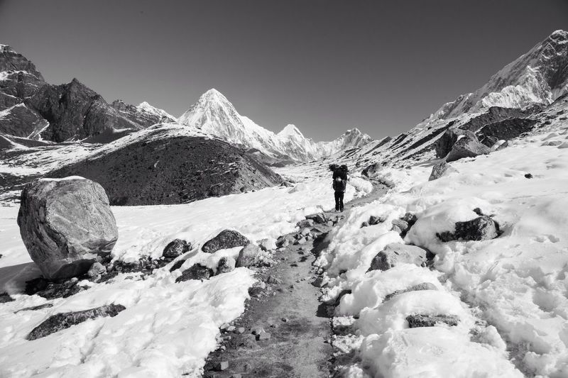 Sherpa walking