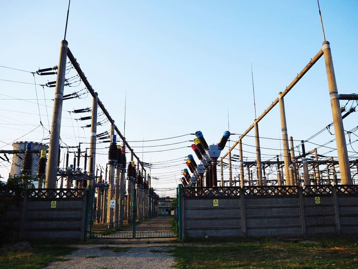 Power Supply Powerlines Power Plant Power Generation Industry Industrial Industrial Landscapes Industrial Photography Industrial Equipment Electricity Wires And Cables Arts Culture And Entertainment Electricity Pylons High Voltage Walking Around Taking Pictures Walking Around The City  EyeEmNewHere Art Is Everywhere City Street Danger Zone Danger Sign High Voltage Sign Investing In Quality Of Life High Voltage Pole High Voltage Fence High Voltage Line High Voltage Cable Stories From The City
