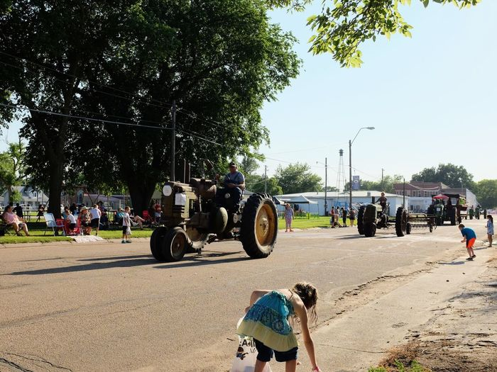 Old Settlers Picnic - Village of Western, Nebraska July 21, 2018 Americans Camera Work Community Event Getty Images Kids Being Kids Photo Essay Rural America Village Of Western, Nebraska Visual Journal Watching A Parade Antique Tractor Candy City Crowd Day Eye4photography  Group Of People Land Vehicle Leisure Activity Lifestyles Long Form Storytelling Men Mode Of Transportation My Neighborhood Nature Old Settlers Picnic Old Settlers Picnic 2018 Outdoors Parade People Photo Diary Plant Real People Road S.ramos July 2018 Sky Small Town Stories Street Streetphotography Summer Sunlight Transportation Tree Uniform Women