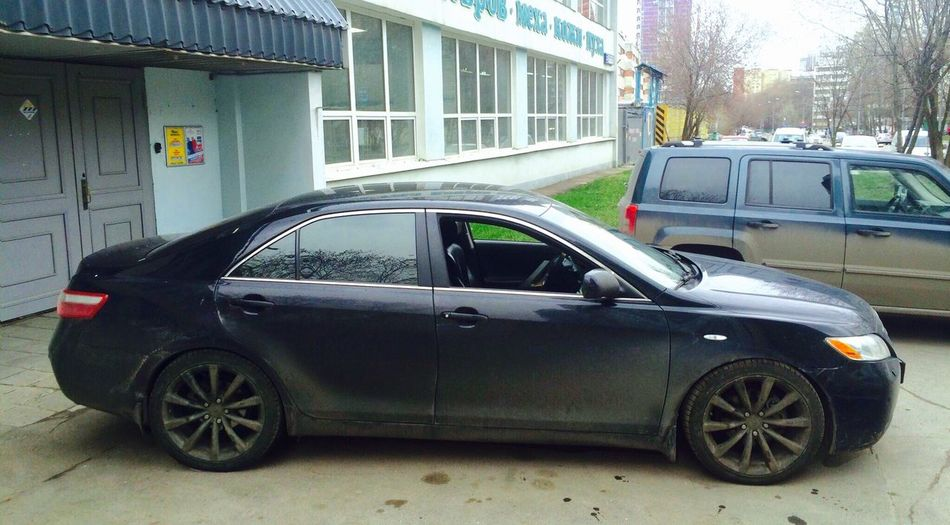 Toyota Camry Xv40 Russia Moscow Infiniti Wheels Japan Style