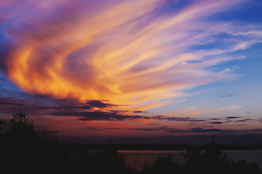 Sunset; Sedlitzer See Landscape Sunset Sunset_collection EyeEm Nature Lover Eye4photography  Tadaa Community Remembering This Moment Germany