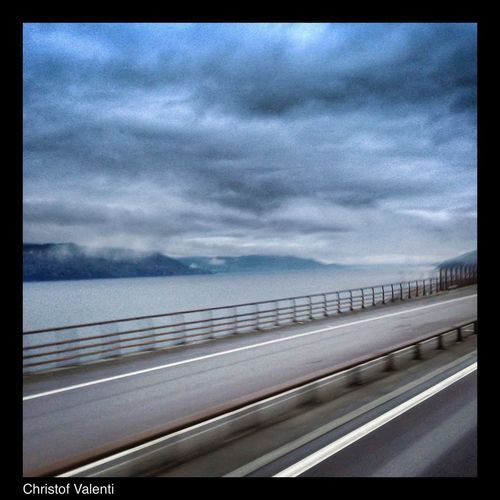 On The Road Clouds And Sky Norway Streamzoofamily