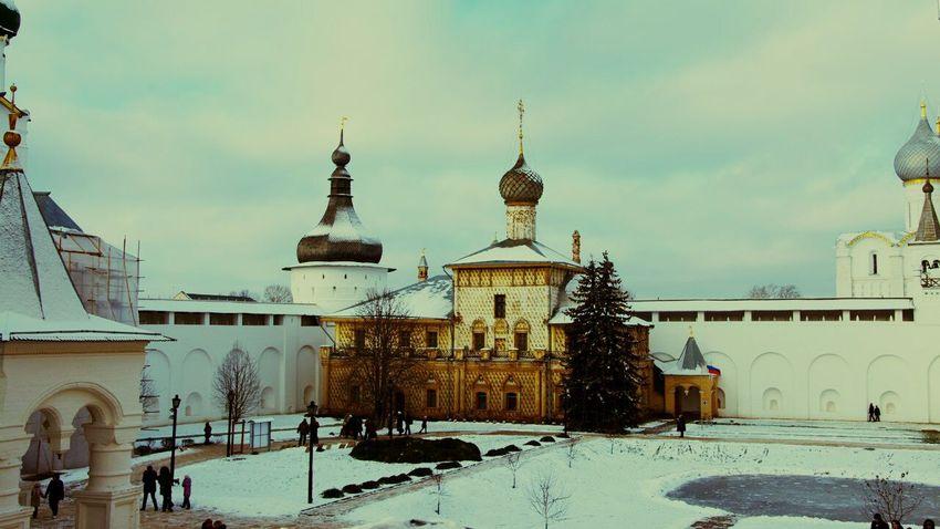 Ростов Великий Rostov Relaxing City Life Hello World