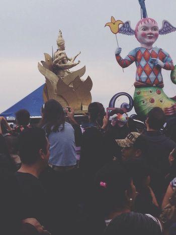 Colors Of Carnival Carnival Mazatlan 2016 Carnival Float Sculpture Cloudy Sunday