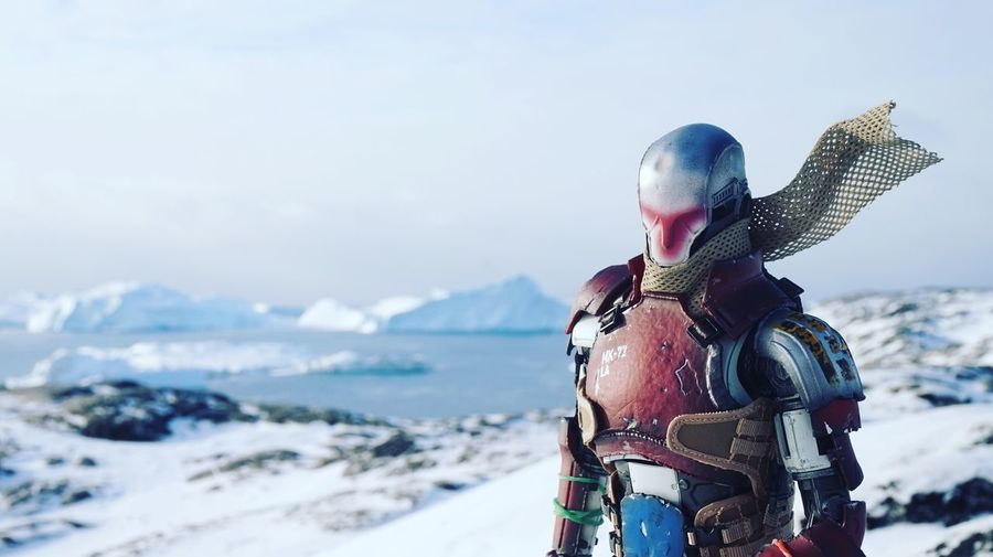Hi, everyone. I'm still alive Pew Pew Gun Figures Snow Outdoors Cold Temperature Nature Day Hot Toys Collectables Toyphotography This Is Greenland Iceberg The Real Greenland Ilulissat Ilulissat Icefjord Robot EyeEm Best Shots EyeEm Best Shots - Nature EyeEm Best Shots - Landscape