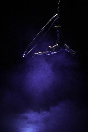 #circus Purple Galaxy Close-up Be Brave