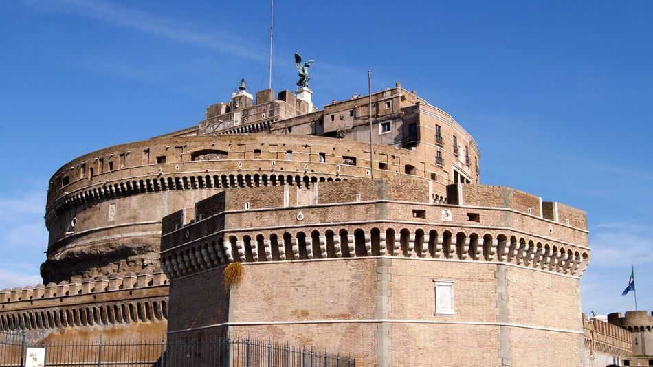 Traveling Holiday Rome Trip Roma Rome Italy Castel Sant'Angelo Castello