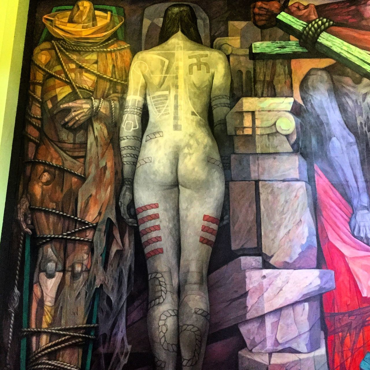 human representation, male likeness, art and craft, no people, statue, sculpture, indoors, multi colored, day, close-up