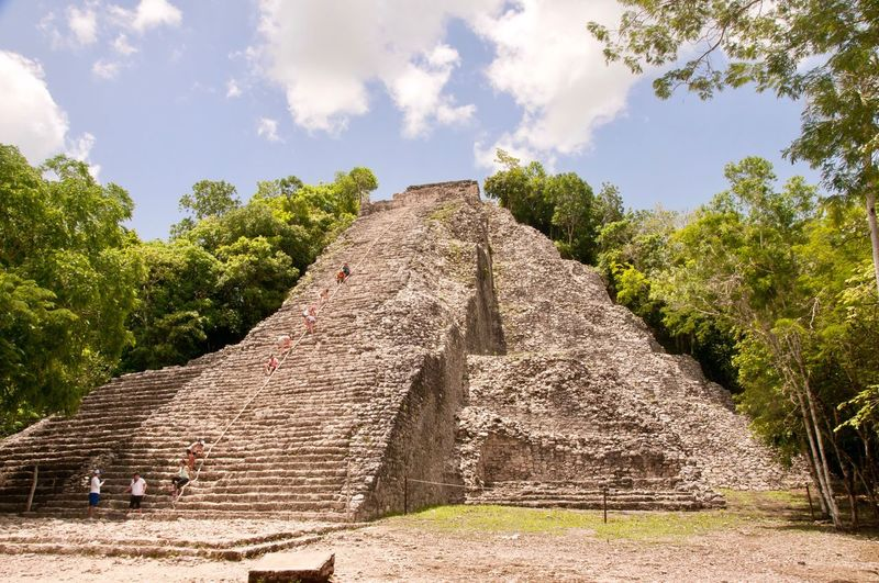 Coba History Ancient Old Ruin The Past Ancient Civilization Archaeology Travel Destinations Pyramid Ruined Architecture Built Structure Tourism Outdoors Viajando Tourist Ancient History Mexico Viajar Ancient History Travel Archaeology Pyramid Viaje