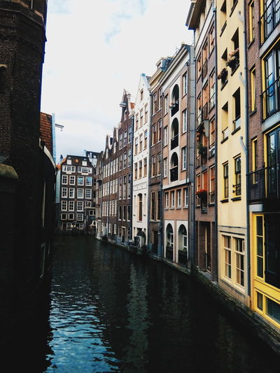 TakeoverContrast Built Structure Building Exterior Architecture City Waterfront Canal Window Building Water
