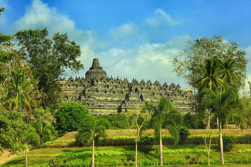 Candi Borobudur, Jogjakarta Travel Destinations No People Architecture Landscape Outdoors Day Cultures EyeEmNewHere INDONESIA Vacations Tourist Heritage Heritage Building Yogyakarta, Central Java - Indonesia Pilgrimage No Peoples