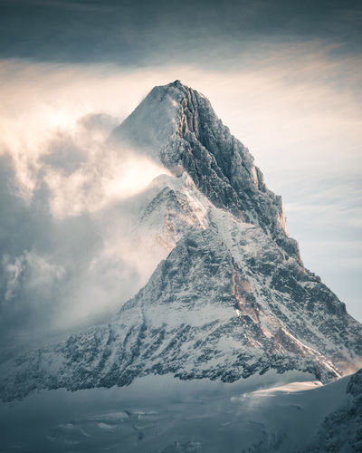 Rugged The Week On EyeEm Alps Beauty In Nature Close-up Clouds Cold Temperature Day Fog Grindelwald Mountain Mountain Range Nature No People Outdoors Peak Scenics Schreckhorn Sky Snow Snowcapped Mountain Switzerland Tranquil Scene Tranquility Winter Fresh On Market 2018