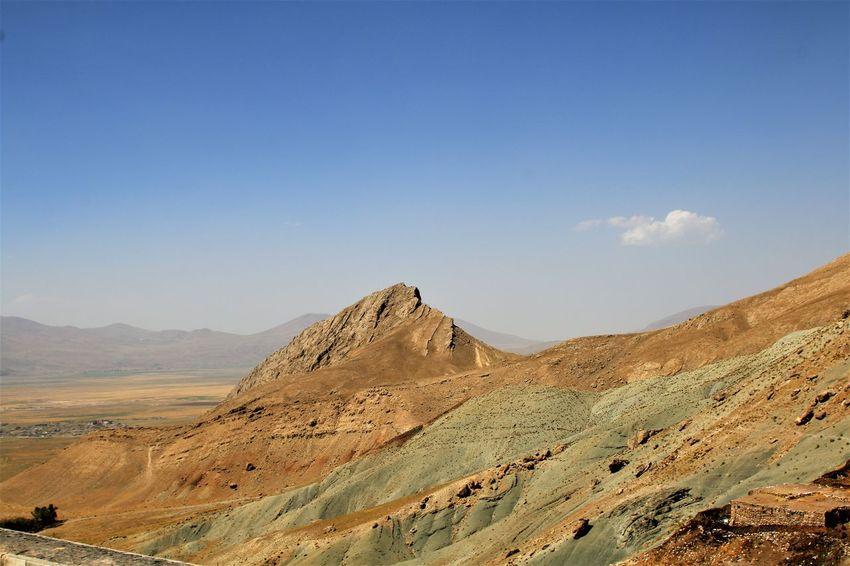 Turkey Dogubayazit Geology Landscape Mountain Mountain Range Nature No People Outdoors Physical Geography Sky