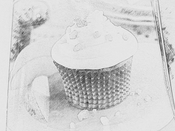Drawing Normalsy Cupcakes Food