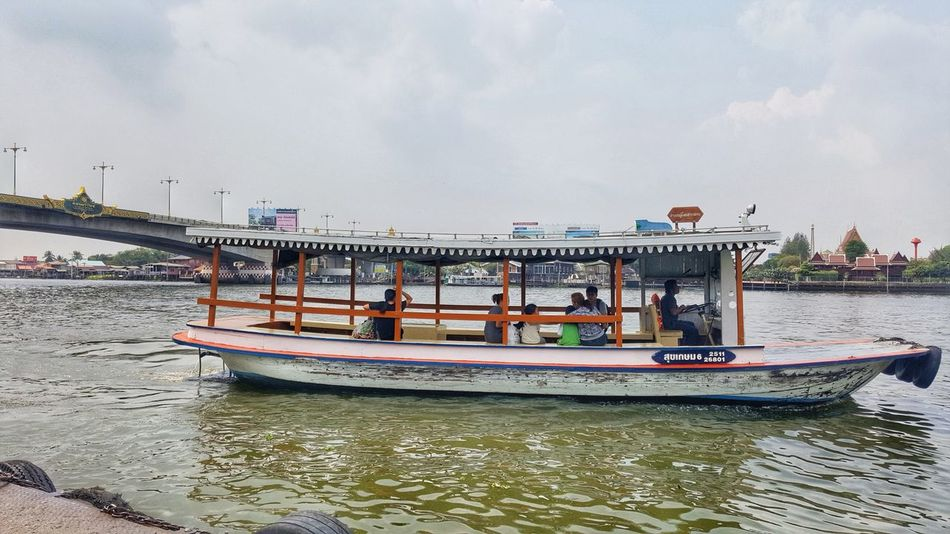 Water Outdoors Nautical Vessel Transportation Mode Of Transport Moored City Travel Destinations Cloud - Sky Vacations Sky Pedal Boat Business Finance And Industry Beach No People Day Ferry Tourboat