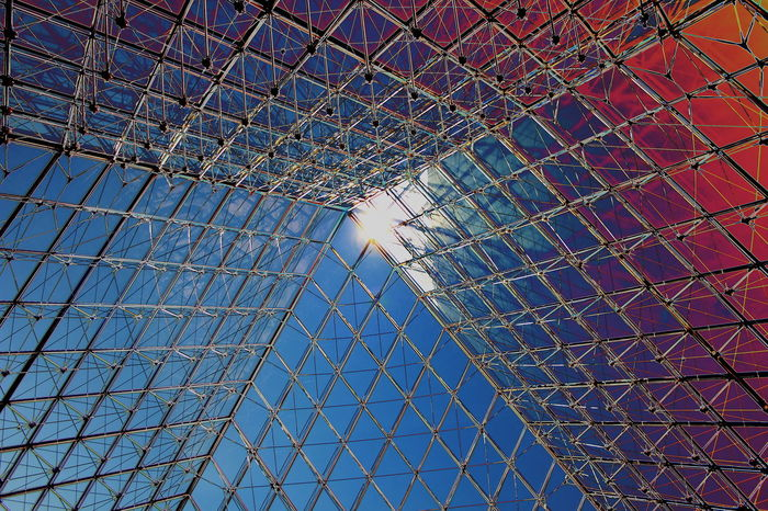 Abstract Architecture Blue Blue Sky Built Structure Colors Day EyeEmNewHere Louvre Low Angle View Metal Metallic Modern No People Orange Color Paris Paris, France  Piramid Piramide Structure Sun Sunlight Sunset Sunset #sun #clouds #skylovers #sky #nature #beautifulinnature #naturalbeauty #photography #landscape Tecnology The Architect - 2017 EyeEm Awards BYOPaper!