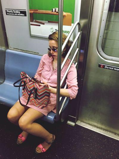 Riding The Train The Fashion Photographer - 2018 EyeEm Awards