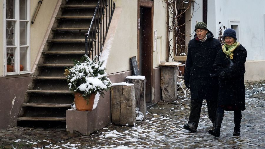 Old Prague Winter Prague Streetphoto_color Streetphotography Architecture People