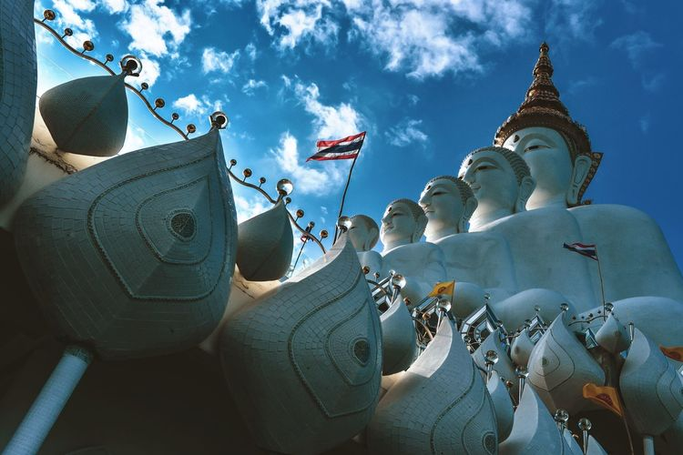 Wat Pha Sorn Kaew Architecture Building Exterior Sky Built Structure Art And Craft Belief Religion