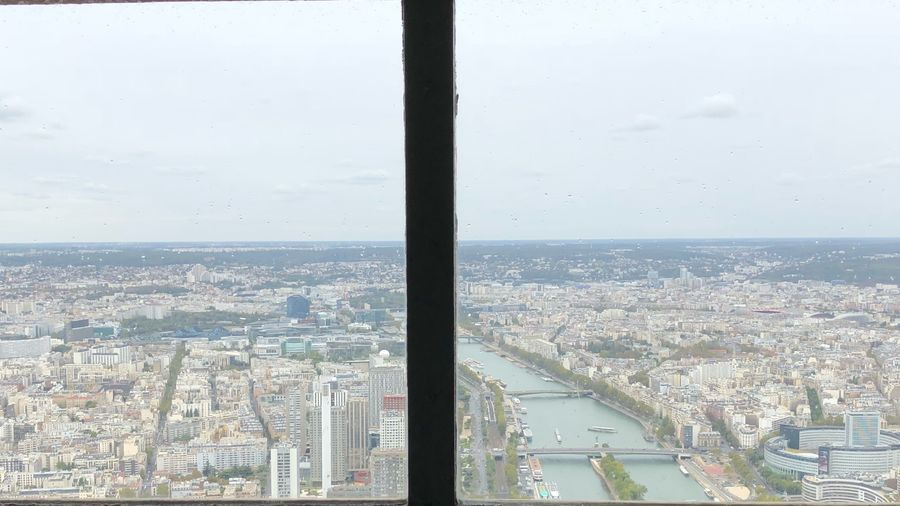 River Seine Skyline Window View Out Of The Window Panoramic Panorama Parisienne Parisjetaime Parisweloveyou Parisian Paris Je T Aime Paris ❤ Paris, France  Paris Seine Paris River Seine Seine River Seine City Building Exterior Cityscape Architecture Built Structure Sky Building Skyscraper Aerial View Window Outdoors Day High Angle View