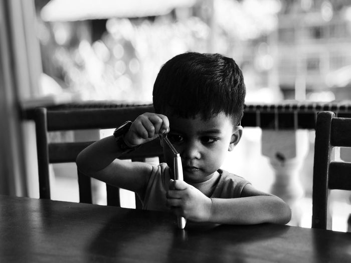 It's the little memories , Time Flies People Change VSCO Kid Childhood Child Boys Males  One Person Men Headshot Lifestyles Real People Portrait Innocence Selective Focus