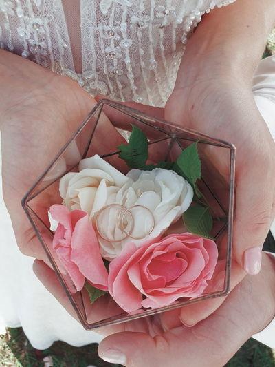 flowers rings
