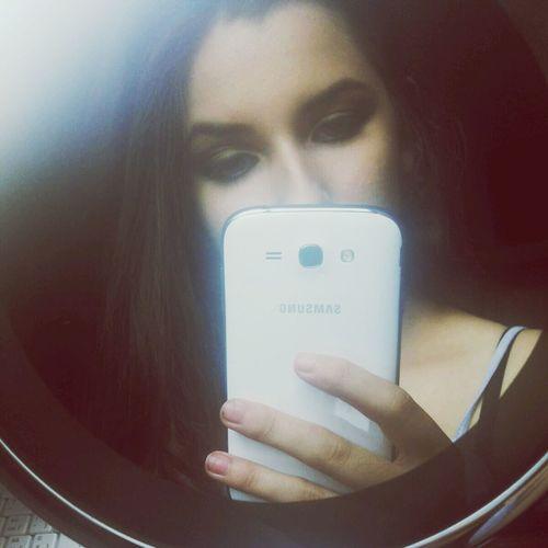 Im Wondering If Im On Your Mind Telephone Mirror Natural Hair
