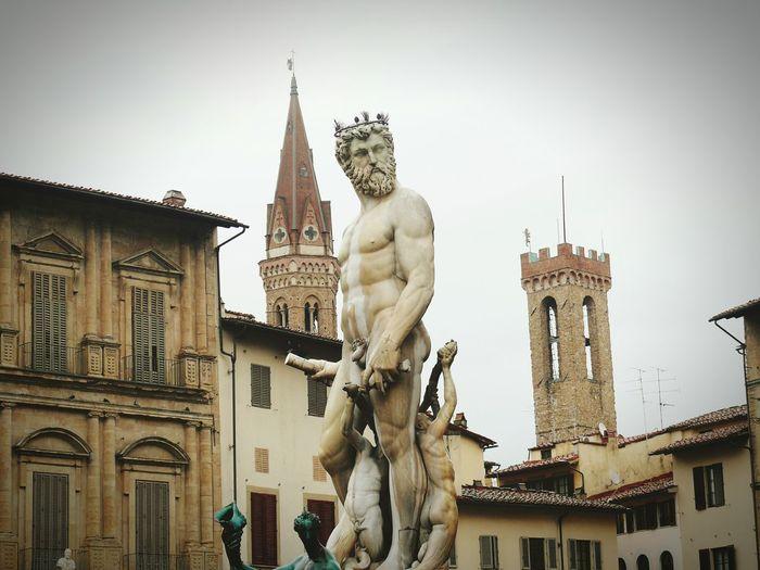 Firenze Florence Florence Italy Piazza Della Signoria Toscany Toscana Italy🇮🇹 Travel Photography Passion Panasonic Dmc Fz50 First Eyeem Photo Fontanadelnettuno
